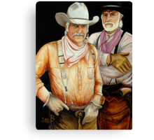 """Gus And Woodrow"" Canvas Print"