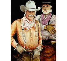 """Gus And Woodrow"" Photographic Print"