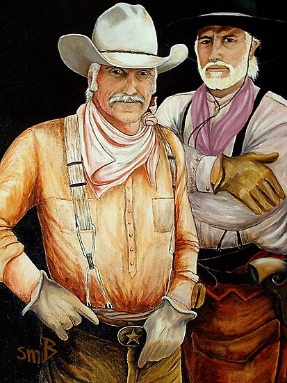 """""""Gus And Woodrow"""" by Susan Bergstrom"""