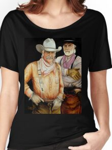 """""""Gus And Woodrow"""" Women's Relaxed Fit T-Shirt"""