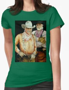 """""""Gus And Woodrow"""" Womens Fitted T-Shirt"""