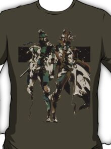 Metal Gear Solid - Solid & Liquid T-Shirt