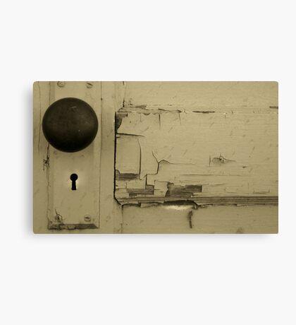 What A Doorknob! Canvas Print