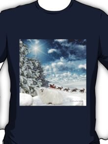Snowdrop the Maltese - Sleigh Bells Ringing ! T-Shirt