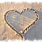 it's written in the sand. by Geri Bragg