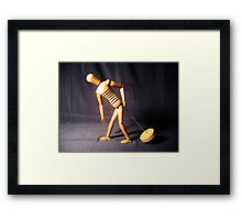 Pain in the Ass Framed Print
