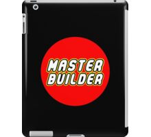 MASTER BUILDER iPad Case/Skin