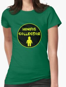 MINIFIG COLLECTOR Womens Fitted T-Shirt
