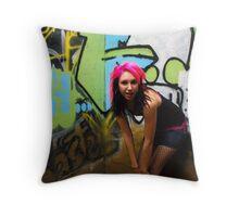 Michelle 5 Throw Pillow