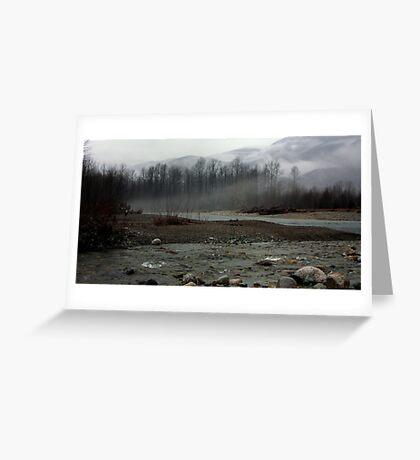 Cloud Mountain Greeting Card