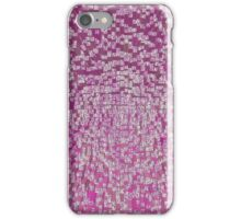 3D Cube Effect - Pink iPhone Case/Skin
