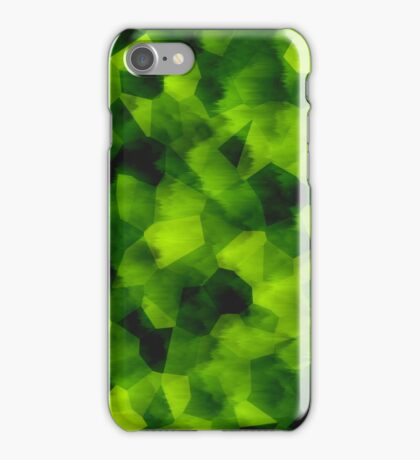 Smudged Green iPhone Case/Skin