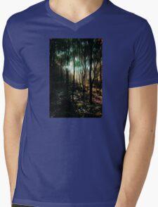 Enchanted Forest Mens V-Neck T-Shirt