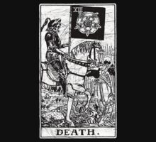 Death Tarot Card - Major Arcana - fortune telling - occult by createdezign
