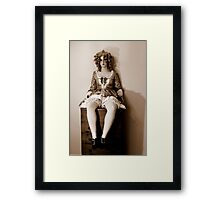 doll 2 Framed Print