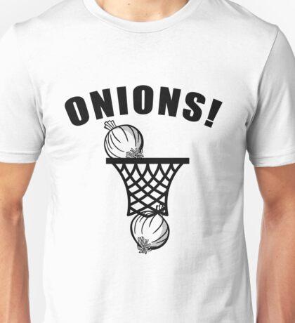 onions basketball t-shirt onion basketball tshirt Unisex T-Shirt