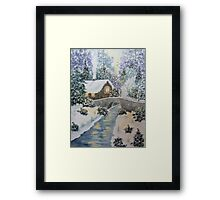 Winter Glory Framed Print