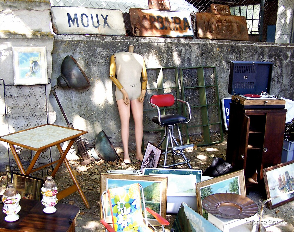 French Antique Market by Caprice Sobels