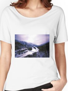 Wintry Evening Women's Relaxed Fit T-Shirt