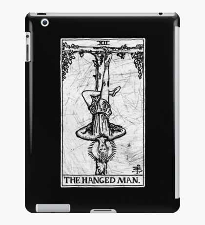 The Hanged Man Tarot Card - Major Arcana - fortune telling - occult iPad Case/Skin