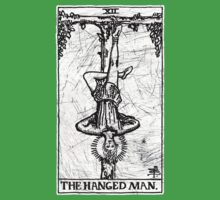 The Hanged Man Tarot Card - Major Arcana - fortune telling - occult Kids Clothes