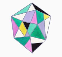 Abstract pyramid Unisex T-Shirt