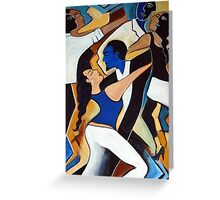 Dance with Me Greeting Card