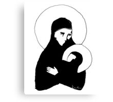 Mary and baby Jesus Canvas Print