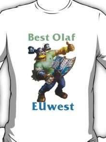 Best Olaf EUwest T-Shirt