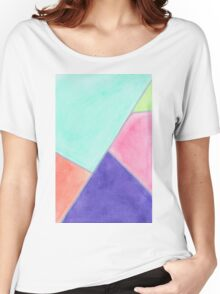 Pastel palette Women's Relaxed Fit T-Shirt