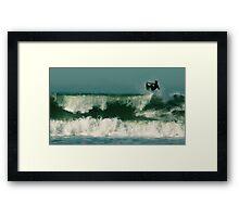 #245 San Francisco Surfer Framed Print