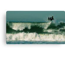 #245 San Francisco Surfer Canvas Print