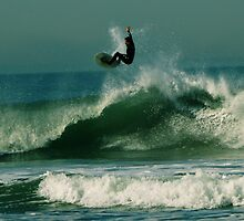 #246 Surfer In San Francisco by MyInnereyeMike