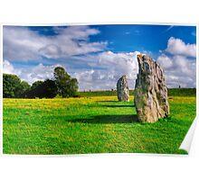 Avebury Days - Standing Stones of Britain Poster