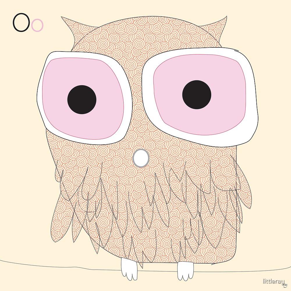 owl mr big eyes by littleray