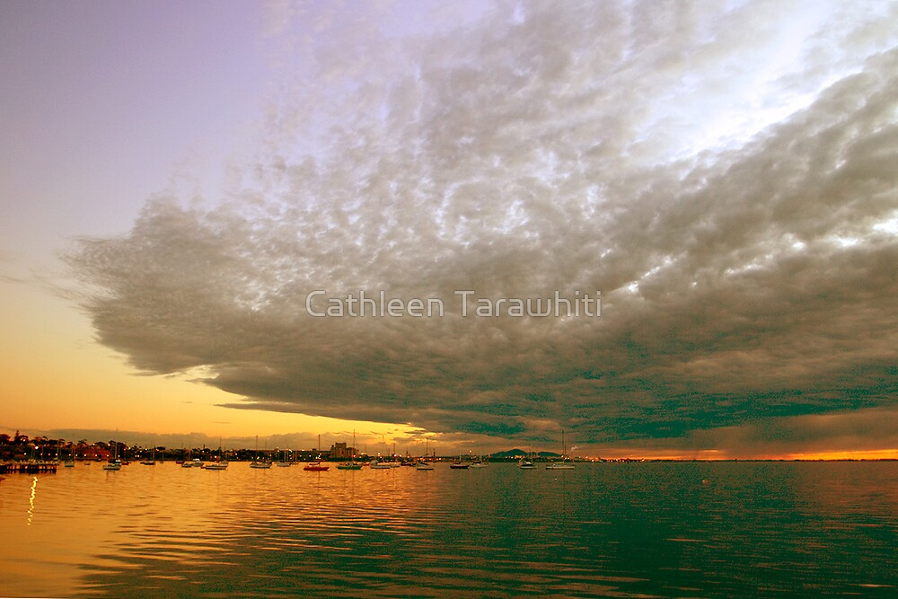 Head clouded with beauty by Cathleen Tarawhiti