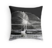 art of fishing 2 Throw Pillow