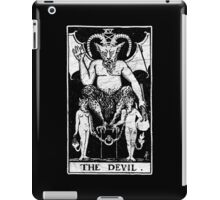 The Devil Tarot Card - Major Arcana - fortune telling - occult iPad Case/Skin