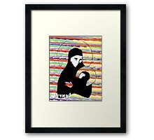 Proud Mary and baby Jesus Framed Print