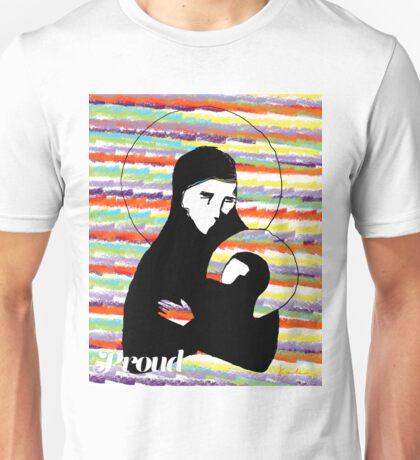 Proud Mary and baby Jesus Unisex T-Shirt