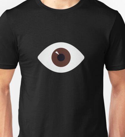 eye of brown Unisex T-Shirt