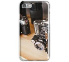 Old-school photography iPhone Case/Skin