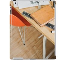 Designer desk iPad Case/Skin
