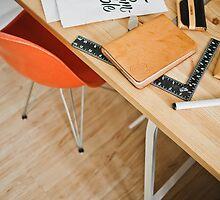 Designer desk by MyNameIsNe0
