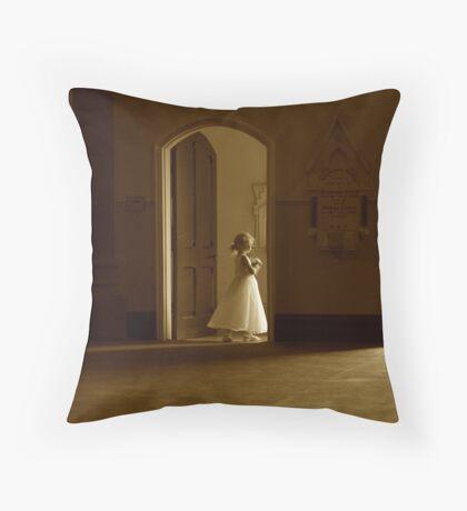 A bridesmaid in waiting Throw Pillow