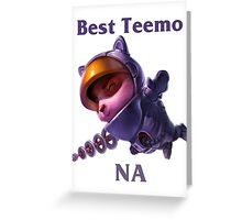 Best Teemo NA Greeting Card
