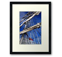 Mercedes Rigging Framed Print