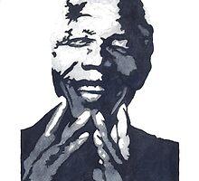 Nelson Madiba Mandela by bridgetdav