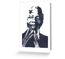 Nelson Madiba Mandela Greeting Card