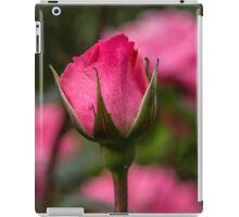Pink Roses Bud iPad Case/Skin
